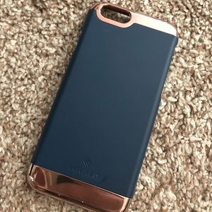Blue/ Gold Caseology iPhone 6 case